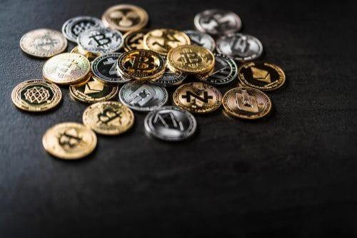 Cryptomonnaies en pièce physique