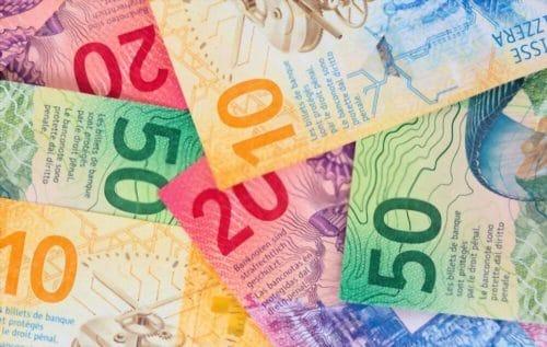 billets franc suisse change euro