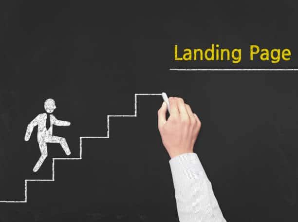 landing page convertir prospects clients stratégie digitale crm experience utilisateur entonnoir funnel